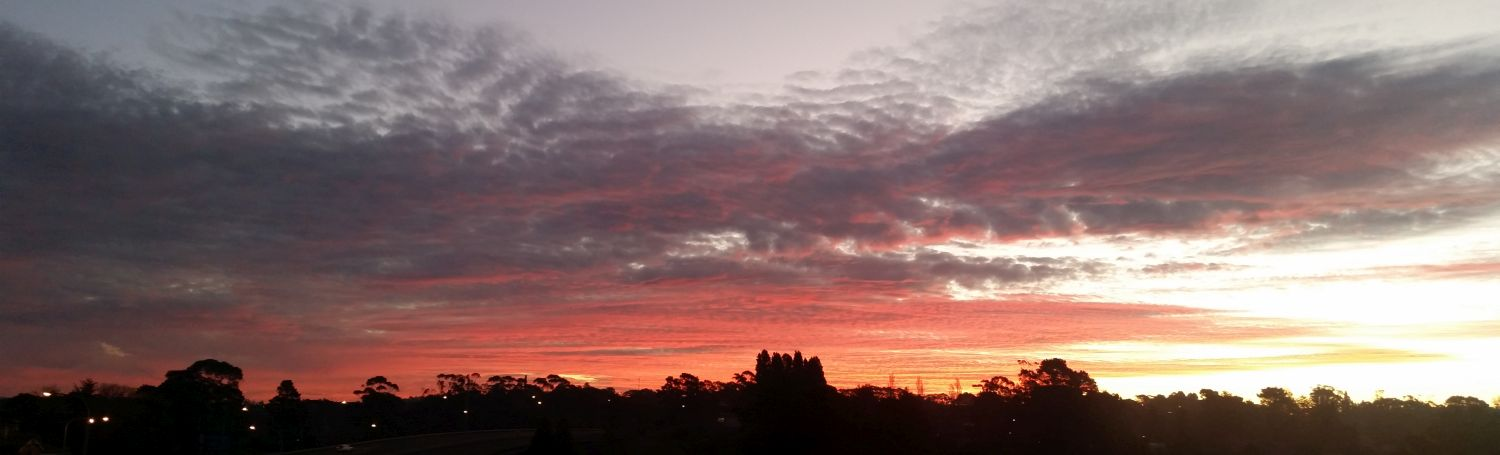 katoomba sunset
